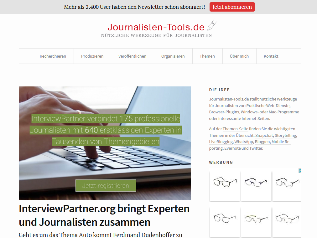 Interviewpartner_Recherchetool_Journalisten-Tools